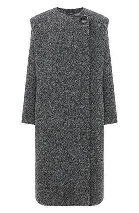 Женское шерстяное пальто ISABEL MARANT серого цвета, арт. MA0798-20A011I/GELT0N | Фото 1