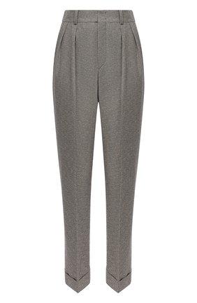 Женские брюки из вискозы и хлопка ISABEL MARANT серого цвета, арт. PA1743-20A017I/0CEY0 | Фото 1