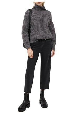 Женские джинсы ISABEL MARANT серого цвета, арт. PA1748-20A022I/NALISKA | Фото 2