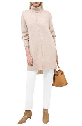 Женская кашемировый свитер ISABEL MARANT бежевого цвета, арт. R01810-20A037I/ANYA | Фото 2