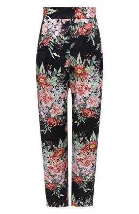 Женские льняные брюки ZIMMERMANN темно-синего цвета, арт. 8400PBTD | Фото 1