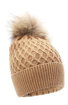 Женский шерстяная шапка DOLCE & GABBANA бежевого цвета, арт. FX982T/JAM8Z | Фото 1