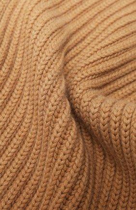 Мужские кашемировый шарф DOLCE & GABBANA бежевого цвета, арт. FX213Z/JAW4Z | Фото 2
