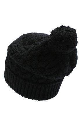 Женский кашемировая шапка DOLCE & GABBANA черного цвета, арт. FX212Z/JAW50 | Фото 2