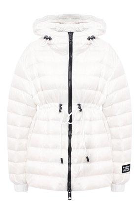 Женская пуховая куртка BURBERRY белого цвета, арт. 8031336 | Фото 1