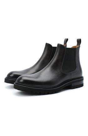Мужские кожаные челси MAGNANNI черного цвета, арт. 22365/B0LTILUX | Фото 1