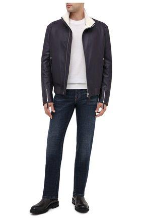 Мужские кожаные челси MAGNANNI черного цвета, арт. 22365/B0LTILUX | Фото 2