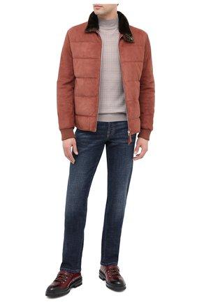 Мужские кожаные ботинки MAGNANNI красного цвета, арт. 22379/MANCHESTER | Фото 2