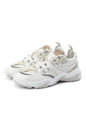 Мужские комбинированные кроссовки valentino garavani afterdusk VALENTINO белого цвета, арт. UY2S0D52/EIR | Фото 1