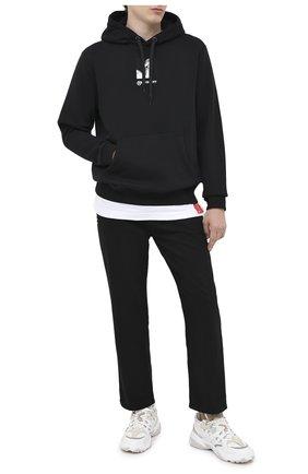 Мужские комбинированные кроссовки valentino garavani afterdusk VALENTINO белого цвета, арт. UY2S0D52/EIR | Фото 2