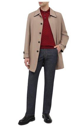 Мужское поло из кашемира и шелка ZILLI бордового цвета, арт. MBU-PB038-CLCC1/ML02/AMIS | Фото 2