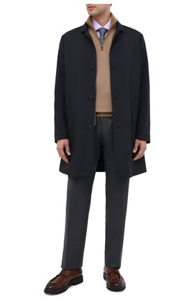 Мужской кожаные дерби W.GIBBS коричневого цвета, арт. 0128013/2303 | Фото 2