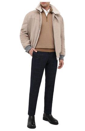 Мужские кожаные сапоги W.GIBBS черного цвета, арт. 0128020/2303 | Фото 2