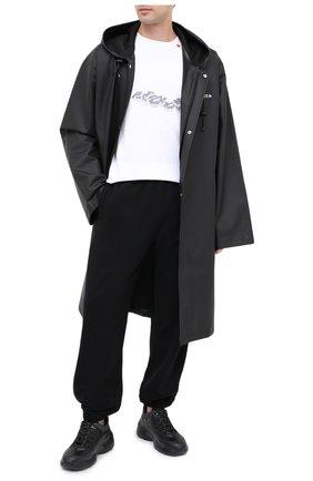 Мужские кожаные кроссовки RBRSL черного цвета, арт. 7V2154UYV70TUQT001 | Фото 2