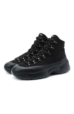 Мужские замшевые ботинки RBRSL черного цвета, арт. 7V2156UYV70CWKB001 | Фото 1