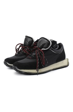 Мужские комбинированные кроссовки RBRSL черного цвета, арт. 7Y2264U.V79TY1T001 | Фото 1