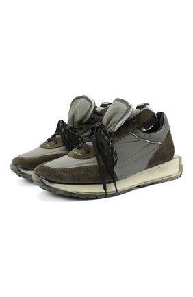 Мужские комбинированные кроссовки RBRSL серого цвета, арт. 7Y2264U.V79TY1TD62 | Фото 1
