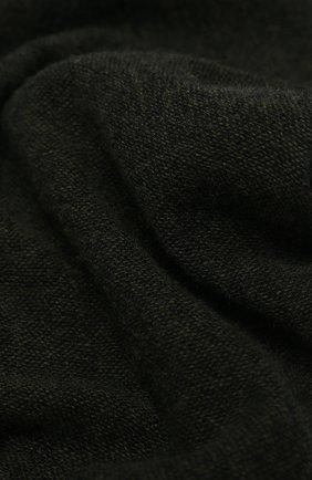 Мужской кашемировый шарф KITON зеленого цвета, арт. USCIACX03T39 | Фото 2