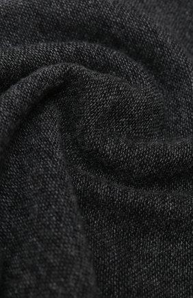 Мужской кашемировый шарф KITON серого цвета, арт. USCIACX03T39   Фото 2
