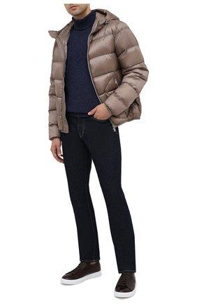 Мужская пуховая куртка RALPH LAUREN бежевого цвета, арт. 790774258 | Фото 2