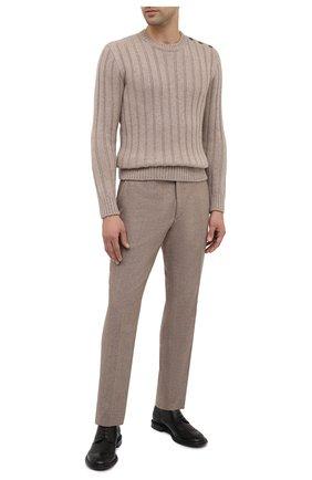 Мужской кашемировый свитер RALPH LAUREN бежевого цвета, арт. 790799276 | Фото 2