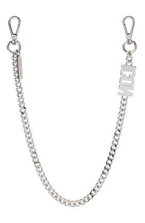 Мужского цепь DSQUARED2 серебряного цвета, арт. CHM0033/37200001 | Фото 2