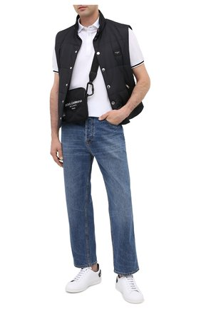 Мужская текстильная сумка palermo tecnico DOLCE & GABBANA черного цвета, арт. BM1848/AW140 | Фото 2