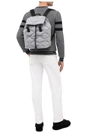 Мужской текстильный рюкзак palermo tecnico DOLCE & GABBANA серого цвета, арт. BM1756/AW140 | Фото 2