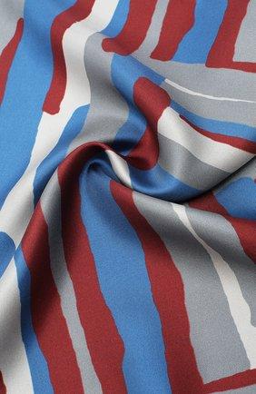 Мужской шелковый платок KITON красного цвета, арт. UP0CHCX03T23 | Фото 2