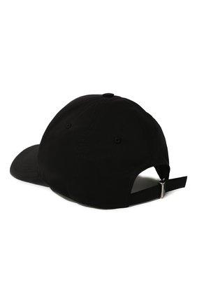 Мужской хлопковая бейсболка DOLCE & GABBANA черного цвета, арт. GH590A/FUFJR | Фото 3