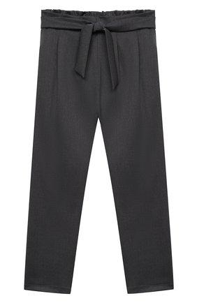 Детские брюки ALETTA темно-серого цвета, арт. AF000540N/9A-16A | Фото 1