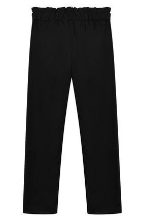 Детского брюки ALETTA черного цвета, арт. AF000540N/9A-16A | Фото 2