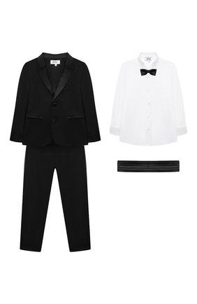Детский костюм ALETTA черного цвета, арт. N000624/4A-8A | Фото 1