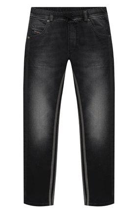 Детские джинсы DIESEL черного цвета, арт. 00J3AJ-KXB5X   Фото 1