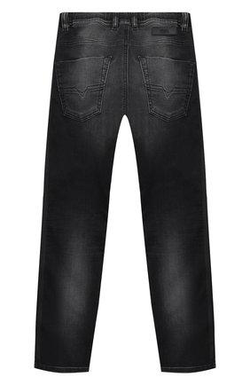 Детские джинсы DIESEL черного цвета, арт. 00J3AJ-KXB5X   Фото 2