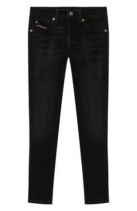 Детские джинсы DIESEL черного цвета, арт. 00J46G-KXB5G | Фото 1