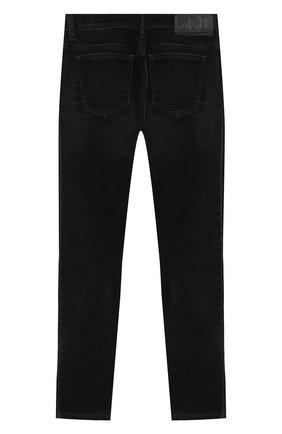 Детские джинсы DIESEL черного цвета, арт. 00J46G-KXB5G   Фото 2