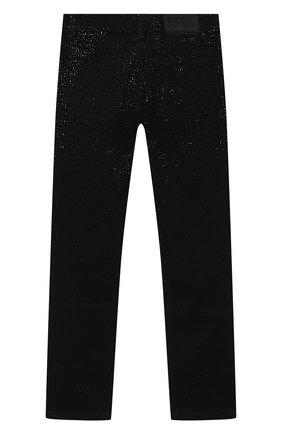 Детские джинсы DIESEL черного цвета, арт. 00J4HP-KXB6R   Фото 2
