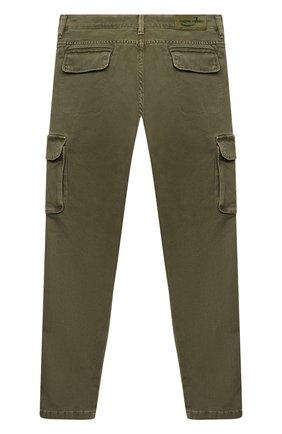 Детские брюки-карго JACOB COHEN хаки цвета, арт. P1314 J-10013 | Фото 2