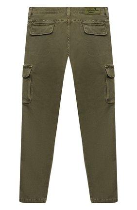 Детские брюки-карго JACOB COHEN хаки цвета, арт. P1314 T-10013 | Фото 2