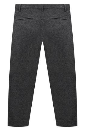 Детского брюки ALETTA серого цвета, арт. AF000541R/9A-16A | Фото 2