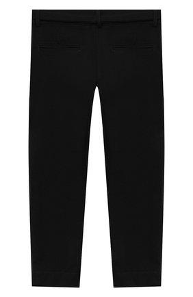 Детского брюки ALETTA черного цвета, арт. AF000541R/9A-16A | Фото 2