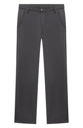 Детские брюки ALETTA темно-серого цвета, арт. AM000594N/4A-8A | Фото 1