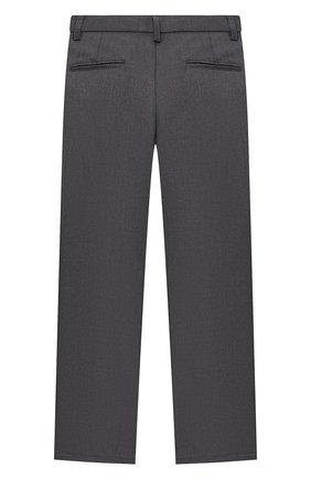 Детские брюки ALETTA темно-серого цвета, арт. AM000594N/4A-8A | Фото 2