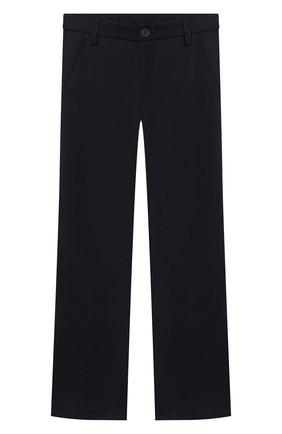 Детские брюки ALETTA синего цвета, арт. AM000594N/4A-8A | Фото 1