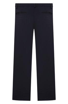 Детские брюки ALETTA синего цвета, арт. AM000594N/4A-8A | Фото 2