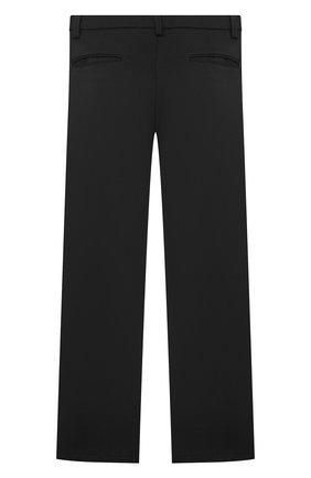 Детские брюки ALETTA черного цвета, арт. AM000594N/4A-8A | Фото 2