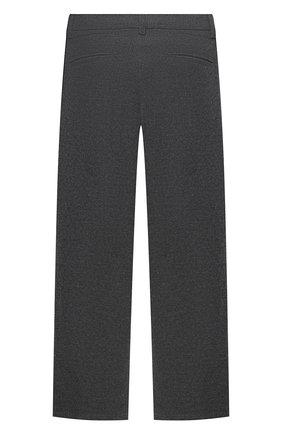 Детские брюки ALETTA серого цвета, арт. AM000594R/4A-8A | Фото 2