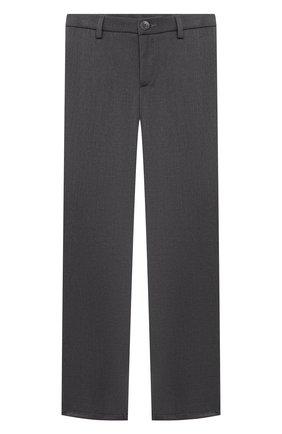 Детские брюки ALETTA темно-серого цвета, арт. AM000595N/9A-16A | Фото 1