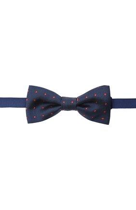 Детский галстук-бабочка ALETTA синего цвета, арт. AMP000617F | Фото 1